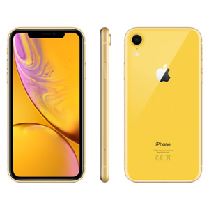 NEW Apple iPhone XR 256GB Yellow Factory Unlocked Worldwide Shipping !