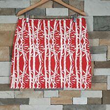 468d0d95a6 Michael Michael Kors $129 Womens Sz 12 Bamboo Sequin Pencil Skirt Paprika