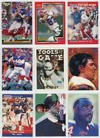 BUFFALO BILLS HOF Football Card Lot - 34 Cards - JIM KELLY, THOMAS, ANDRE REED