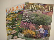 Vintage Original Lot of 2 COUNTRY LIVING Gardener Magazines 08/02 08/03 BY2