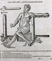 Orthopédiste 1614 Rhumatologie Kinésithérapeute Ambroise Paré Luxation Médecine