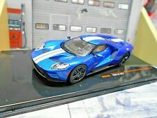 FORD new GT40 GT 2017 blau blue Supersportwagen IXO MOC205 1:43