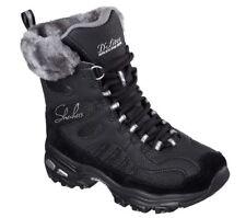 Skechers D'Lites Chalet Stivali Impermeabile Invernali con