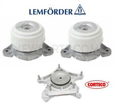 For Mercedes W218 CLS400 W212 E350 4Matic Transmission Mount & Engine Mounts Kit