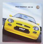V20346 MG 'F' TROPHY 160 - DEPLIANT - 2001 - 15x15 - GB GB