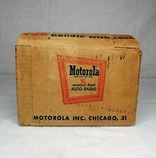 RARE 1950'S MOTOROLA SW3-12 SHORTWAVE RADIO AUTO MARINE ADAPTER RECEIVER--PARTS