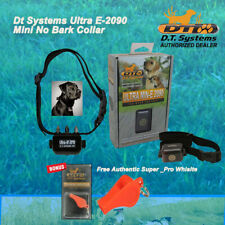 DT Systems Ultra Min-E No Bark Training Collar 2090 Ultra2090 & FREE DT Whistle