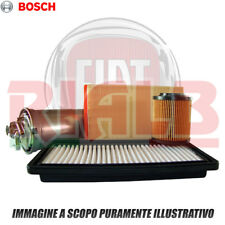 Kit 3 Filtri Bosch per Fiat Grande Punto (199_) 1.4 Natural Power - 77 CV 57 kw
