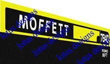 Moffett 7840 Trattore Adesivi/Decalcomanie