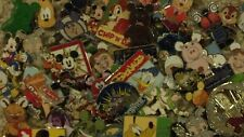 LOT OF 90 RANDOM DISNEY PINS. 100% REAL GUARANTEED!! NO SCRAPPERS EVER!!