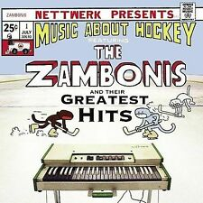 The Zambonis and their Greatest Hits - Music About Hockey CD Monkey 17 tracks