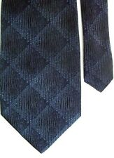 "Croft & Barrow Men's Silk Plaids & Checks Neck Tie Gray 3 7/8"" x 60"" Long"