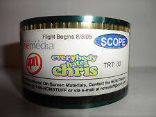 Everybody Hates Chris 35mm theater ad for UPN show 30 second commercial SCOPE