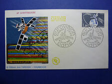 LOT 12671 TIMBRES STAMP FDC THEME CINEMA ET TV FRANCE ANNÉE 1980