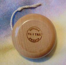 Uppsala Taitra Sweden Vintage Wooden Yo-Yo