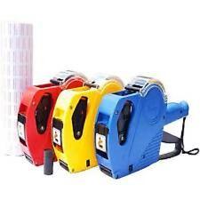 Prix tag pistolet prix de détail étiqueteur kit + 11000 étiquette rolls stickers