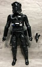 "Star Wars The Force Awakens Black Series 6"" First Order Tie Fighter Pilot Loose"