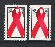 USA US - 1993 World AIDS Day sheet & booklet stamp, SG2870/2871,  MNH