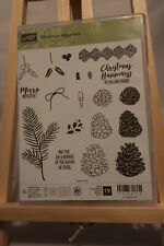 "Stampin' Up! ""Christmas Happiness"" Set of 19 Stamps"