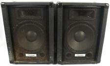 """Hollinger Pa-120 Pa Live or Studio 10"""" 60w Speaker Speakers Pair"""