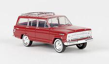 Jeep Wagoneer, rot, H0 Auto Modello 1:87, Brekina 19850, TD