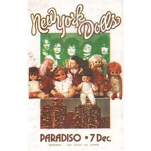 New York Dolls - Paradiso, Amsterdam, December 7, 1973 [Holland] - Poster