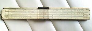 Vintage Faber Castell Slide Rule - Scientific Wooden
