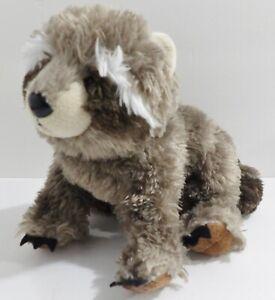 """7"""" Ganz Plush Bean Filled Woodland Raccoon Toy Animal  C28"""