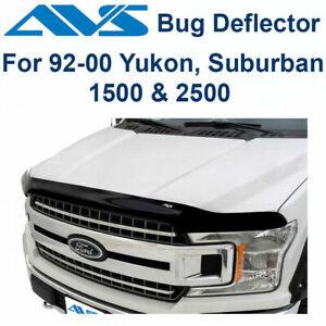 AVS 322014 Aeroskin Bug Shield Hood Protector Smoke 92-00 GMC Chevy PU Suburban
