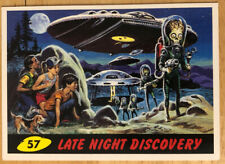 Topps Mars Attacks Trading Card - #57 Late Night Discovery