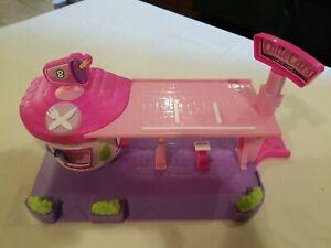 "Shopkins Cutie Car Drive Thru Diner Playset NO ACCESSORIES OR FIGURES 14"" LONG"