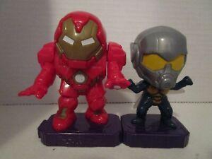 2020 McDonalds MARVEL STUDIOS HEROES AVENGERS #7 The Wasp & #8 Hulkbuster
