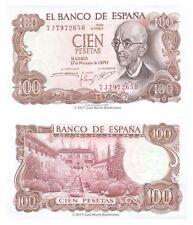 Spain 100 Pesetas 1970 P-152 Banknotes UNC
