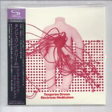 TANGERINE DREAM Electronic Meditation JAPAN mini lp cd SHM ARC-8005 NEW