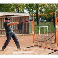 5'x5' Practice Hitting Baseball Net Kids Equipment Softball Training Pitching
