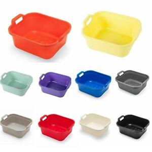 Addis 10L Plastic Large Washing Up Bowl Kitchen Basin Sink Bowl with Handles