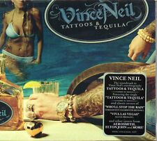 VINCE NEIL - TATTOOS & TEQUILA - CD (NUOVO SIGILLATO) DIGIPACK