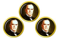 President William Mckinley Marqueurs de Balles de Golf