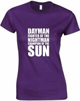 Dayman Fighter Of The Nightman Ladies Printed T-Shirt Casual Soft Tee Women Top