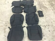 FACTORY OEM CLOTH SEAT COVER COVERS BLACK TOYOTA RAV XLE 2016