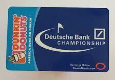 2007 Dunkin Donuts Gift Card. DEUTSCHE BANK. Mint. Worldwide shipping