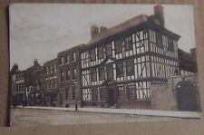 Postcard Academy house Tewkesbury  Gloucestershire unposted