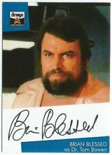 The Lost Worlds of Gerry Anderson Auto Card BB1 Brian Blessed as Dr Tom Bowen
