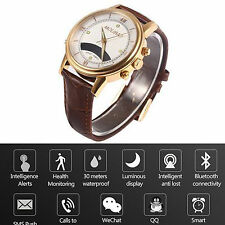 Bluetooth Smart Watch Health Reminder For iOS Android Samsung S7 S6 S5 A3 A5 A7