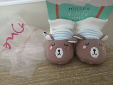 Joules Baby Nipper Slippers 0-6 months  Brand New