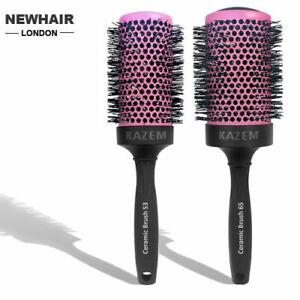 Hair Brush Nano Thermal Ceramic Ionic Round Styling Brush - Hairdressing Expert