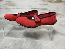 Champion Non Marking Women's Red Suede Shoes New size 7 1/2