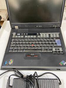 IBM Thinkpad  Laptop  Model G40 2388 Vintage Retro Gaming...VERY RARE