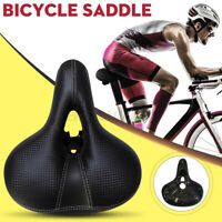 Bicycle Cycling Saddle MTB Bike Seat Wide Soft Pad Comfort Road Bike Rainproof