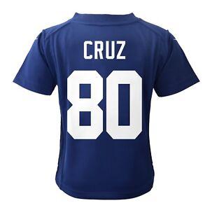 Victor Cruz New York Giants Nike Home Blue Infant Game Jersey (12M-24M)